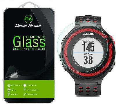 2x Dmax Armor for Garmin Forerunner 220 / 230 Tempered Glass Screen Protector
