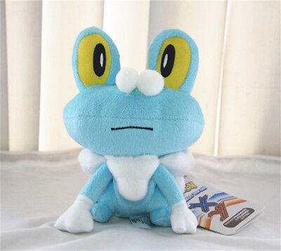 Pokemon Center X Y Froakie Keromatsu Soft Plush Doll Stuffed soft Toy Gift US 7