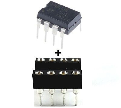 10Pcs On Semiconductor Lm833ng Lm833   Sockets   Dual Operational Amplifier Ic