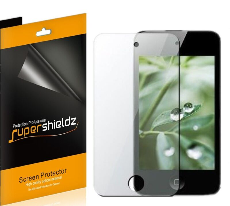 6x Supershieldz Clear Screen Protector for Apple iPod Touch 4 4g 4th Gen