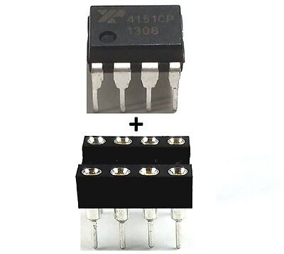 5Pcs Exar Xr4151cp Xr4151   Sockets   Voltage To Frequency Convertor   New Ic