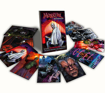 HORROR MOVIE TRADING CARDS - VOL 1 MONSTER MASTERPIECES CLASSIC MONSTERS HISTORY