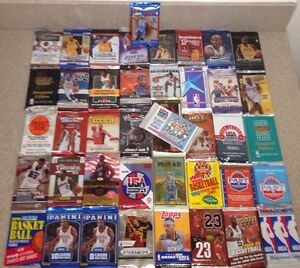 GREAT-LOT-OF-OLD-NEW-UNOPENED-BASKETBALL-CARDS-IN-PACKS-AUTO