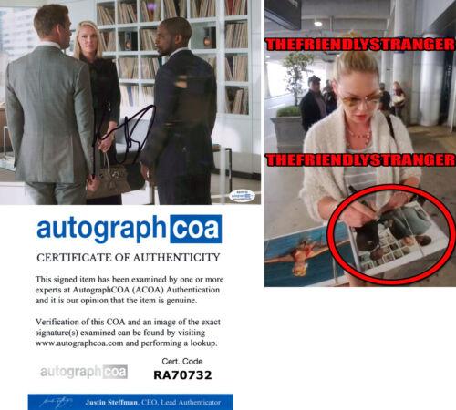 "KATHERINE HEIGL signed Autographed ""SUITS"" 8X10 PHOTO A - EXACT PROOF - ACOA COA"
