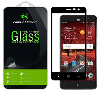 Deluxe Armor Pack - [2-Pack] Dmax Armor Full Cover Tempered Glass Screen Protector for ZTE Grand X4