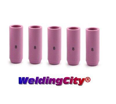Weldingcity 5-pk Alumina Ceramic Cup 10n46 8 12 Tig Welding Torch 171826