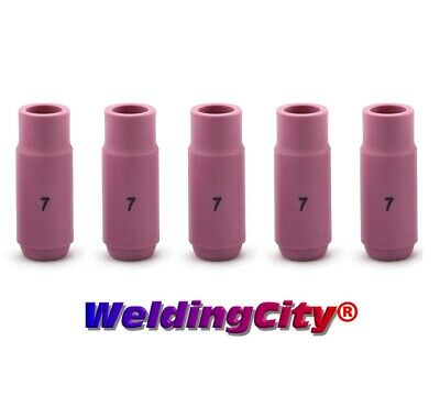 Weldingcity 5-pk Alumina Ceramic Cup 10n47 7 716 Tig Welding Torch 171826