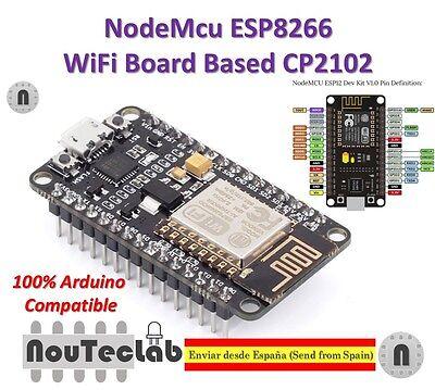Nodemcu Lua Wifi Internet Of Things Development Board Based Esp8266 Cp2102