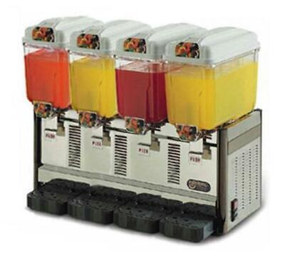 Cofrimell 4-flavor Cold Beveragejuice Dispenser Cd4j 110v