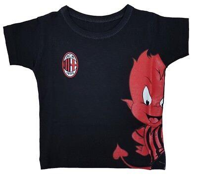 Abbigliamento Bambino T-Shirt Ufficiale Milan Prima Infanzia PS 19593