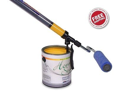 Paintstick Ez Twist Paint Roller High Wall Ceiling Painting Fast Easy Diy Gift