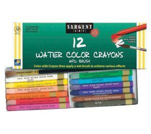 watercolor crayons ebay