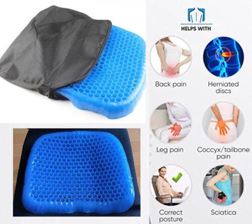 Egg Gel Orthopedic Seat Cushion Pad for Car& Office Chair &W