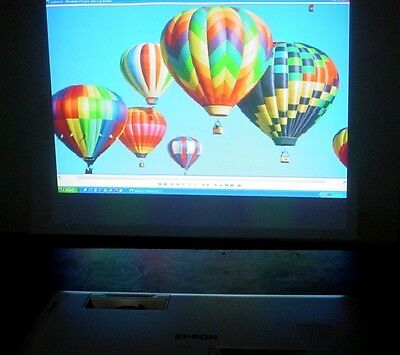 (Epson EMP-1825 3LCD Home Theater Projector 3500 Lumens 500:1 Contrast S-Vid #3)