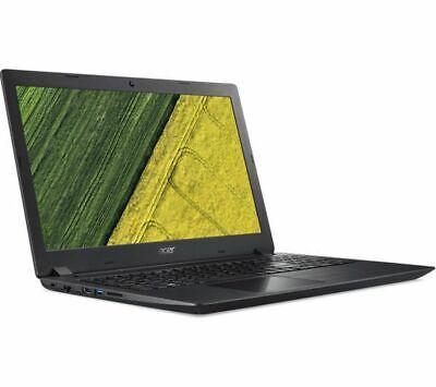 ACER Aspire 3 A315-51 15.6in Black Laptop - Intel i3-8130U 4GB RAM 128GB SSD - W