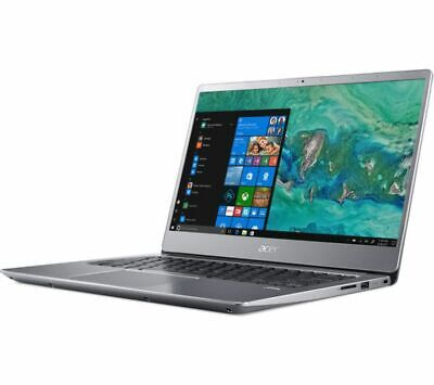 ACER Swift 3 14in Silver Laptop - Intel i5-8250U 8GB RAM 256GB SSD - Windows 10