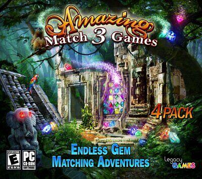 Computer Games - Amazing Match 3 Games PC Games Windows 10 8 7 XP Computer Games puzzle gem match