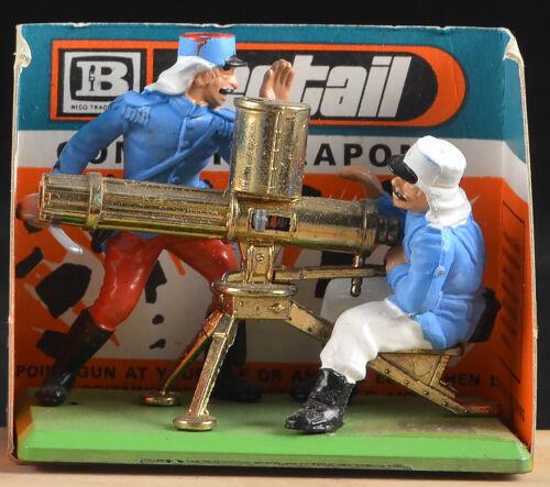 Britains Deetail Foreign Legion Gatling Gun Team - Mint on Card