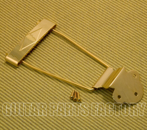 T120-12-G WD Music 12-String Guitar Trapeze Tailpiece Gold