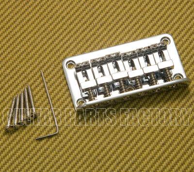 SB006C Top-loading Chrome Hardtail Guitar Bridge For Squier Strat/Tele & Similar