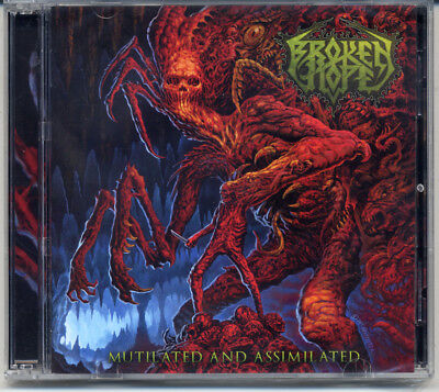 Broken Hope  Mutilated And Assimilated  2017  Cd Dvd Jewel Case