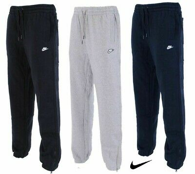 Nike Men's Joggers Sweatpants Classic Tracksuit Bottoms Fleece Pant Trouser Size
