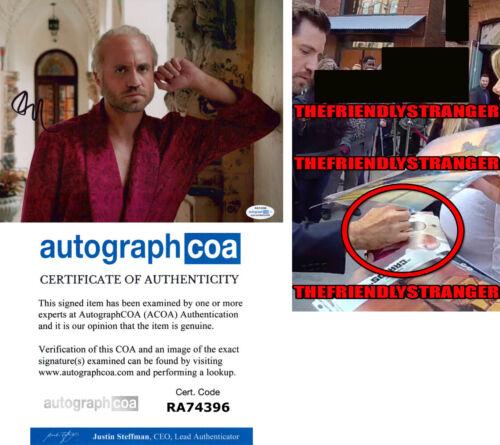 "EDGAR RAMIREZ signed ""AMERICAN CRIME STORY"" 8X10 Photo EXACT PROOF Versace ACOA"