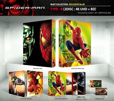 (Presale) SPIDER-MAN [Blu-ray] 4K+2D (STEELBOOK), Lenticular-B Type 850 Copies!