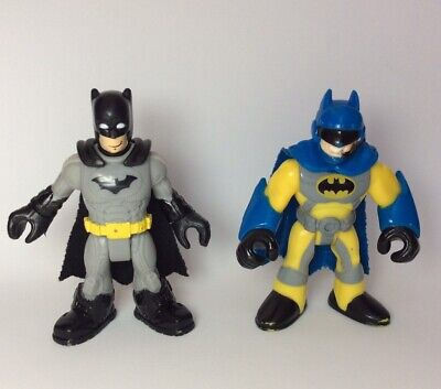 Fisher Price Imaginext Helicopter Dark Knight Batman Figure Lot of 2 USA Seller