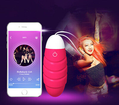 Couples Smart Phone Bluetooth App Remote Control Rechargable Vibrator in Panty
