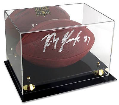 - BCW Deluxe Football Display Case Mirrored Back with Wall Mount Bracket