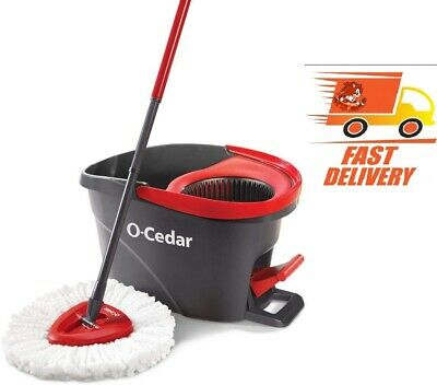 Best O-Cedar EasyWring Microfiber Spin Mop and Bucket Floor Cleaning System