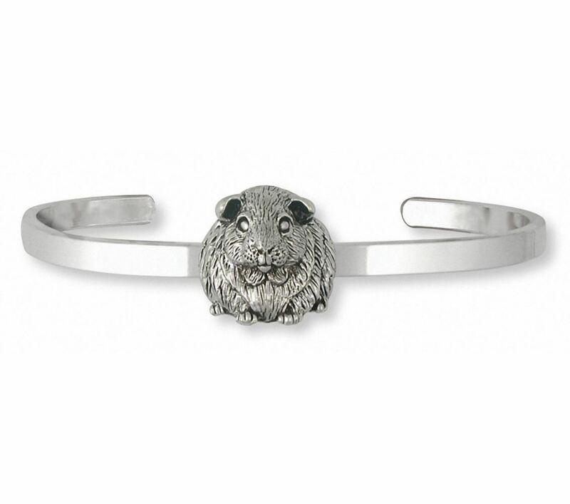 Guinea Pig Bracelet Jewelry Sterling Silver Handmade Piggie Bracelet GP1-CB