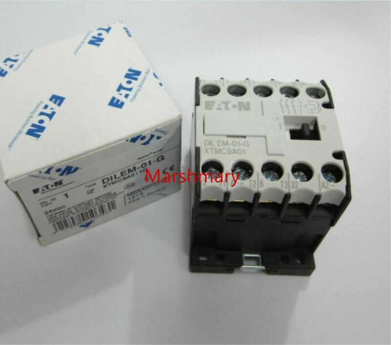 1pc New EATON MOELLER DILEM-01-G 24VDC Operated Contactor