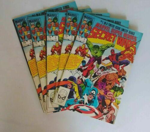 MARVEL SUPER HEROES SECRET WARS #1 Comic 1984