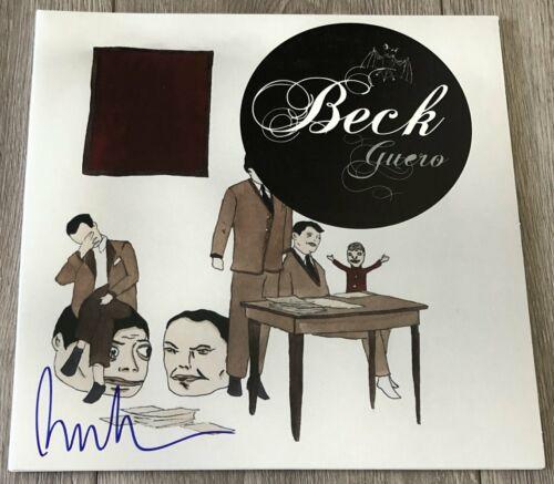 BECK HANSEN SIGNED AUTOGRAPH GUERO VINYL RECORD ALBUM w/PROOF