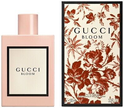 Gucci Bloom Perfume By Gucci 3.3 oz / 3.4 oz EDP Spray For Women Brand New Box *