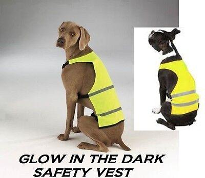 Hund Reflektierende Sicherheit Jagd Wandern Einfach / Off Weste Fell Gelb XS-SM Fell Nylon Weste