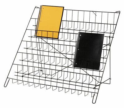6-tier Black Wire Countertop Rack - 22h X 29w X 18d