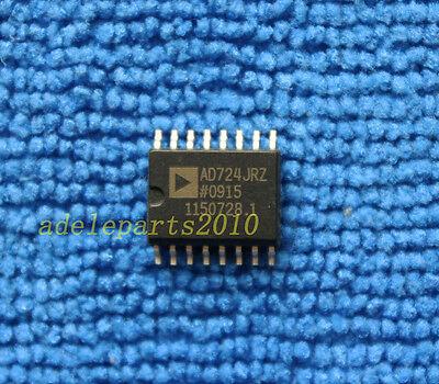 5pcs Ad724jr Ad724jrz Ntscpal Encoder Ic Analog Devices Sop-16
