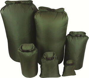 New-GREEN-Military-Bergen-Daysack-100-Waterproof-DRY-BAG-Sack-Canoe-Kayak