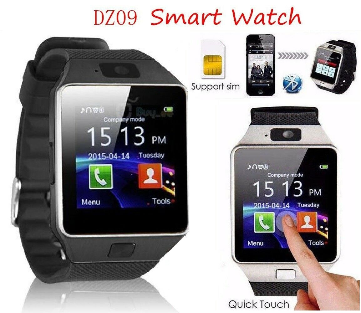SMARTWATCH DZ09 OROLOGIO TELEFONO CELLULARE BLUETOOTH SIM CARD MICRO SD PHONE