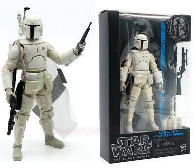 "Star Wars Black Series Prototype Boba Fett Stormtrooper 6"" Action Figure Model"