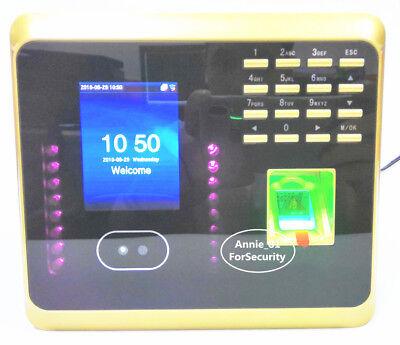 Golden Uf100 Facial Fingerprint Employee Time Attendance Face Time Clock