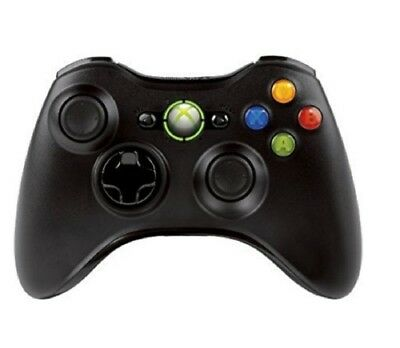 Microsoft Xbox 360 Wireless Gaming Controller Black in Bulk for Xbox 360 System for sale  Shipping to India
