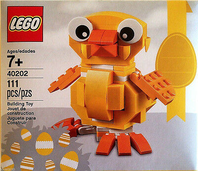 NEW in BOX - LEGO EASTER CHICK SET #40202 - Sealed Box    2 available