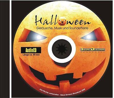 CD HALLOWEEN - GERÄUSCHE SOUNDEFFEKTE U MUSIK 99 TRACKS