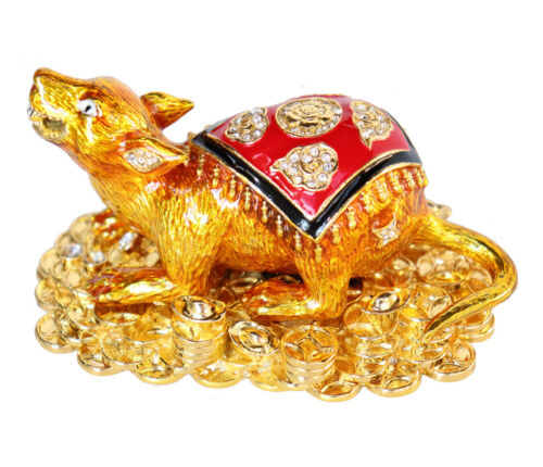 Feng Shui Gold Mongoose Spouting Jewels