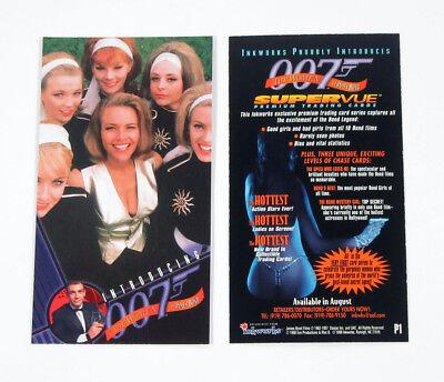 1998 Inkworks The Women of James Bond  Promo Card (P1) Nm/Mt
