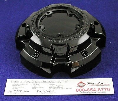 NEW ULTRA MOTORSPORTS CHROME WHEEL CENTER CAP PART# 89-9850BK